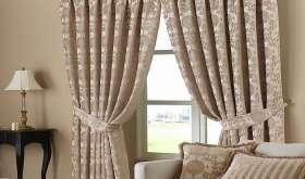 Как выбрать портьеры в гостиную: стиль, цвет и модель штор