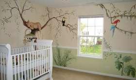 Украшаем стены в детской комнате. О чем расскажут ее стены?
