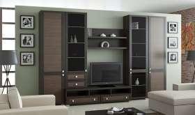Стенка-горка: современная мебель для гостиной