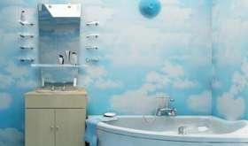 Отделка ванной и туалета пластиковыми панелями: просто и со вкусом