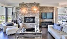 Искусственный камень в интерьере квартиры и дома