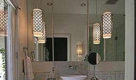 Варианты, нормы и типы освещения в ванной комнате и туалете