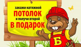 Потолки «Мастер Бобр» в Москве