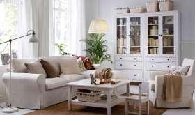 Интерьер гостиной в стиле ИКЕА и применение модульной мебели