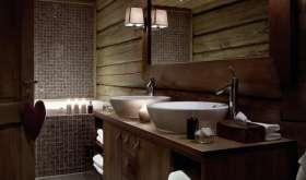 Отделка ванной комнаты нестандартными материалами