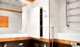 Какими бывают потайные люки для ванной и туалетной комнат?