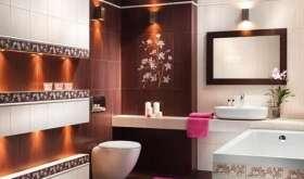 Облицовка ванной и туалета плиткой: сложно, но можно