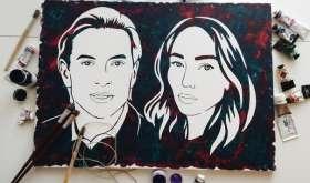 Печать портретов на холсте на заказ — что это такое и где купить