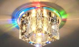 Какое освещение подходит для натяжных потолков?
