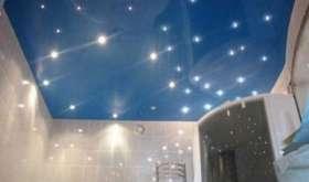 Натяжные потолки в ванную: если вам не жалко 10 см…