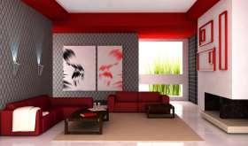 Современные идеи дизайна стен в комнате
