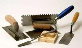 Инструменты для штукатурных работ в квартире