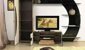 Мини-стенки: виды современной мебели для гостиной