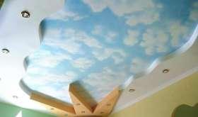 Натяжные потолки для детской