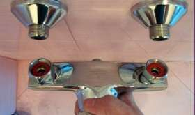 Подключение встроенного смесителя