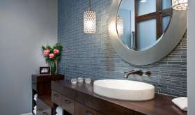 Как выбрать зеркало в ванную комнату: определяемся с размерами, формой, типом и дизайном