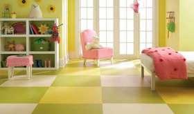 Какой пол лучше сделать в детской комнате: непростой выбор материала