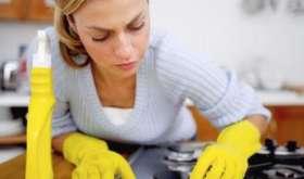 Как и чем отмыть кухонную плиту?