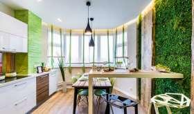 Природный экостиль в интерьере жилого помещения