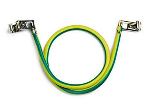 Провода с клеммами для теплого электрического пола в санузле