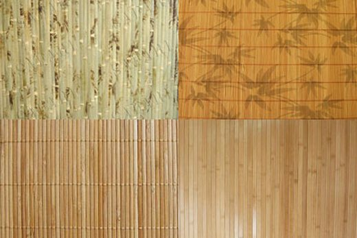 Керамика под бамбук