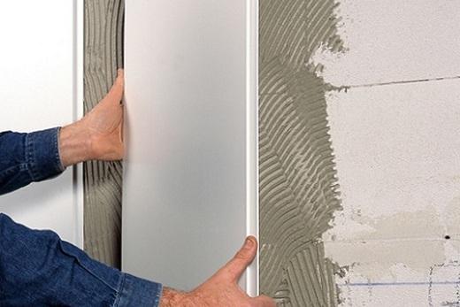 Монтаж пластиковых панелей на стену своими руками