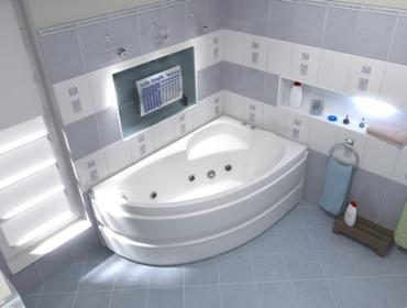 Акриловая ванна BAS Сагра
