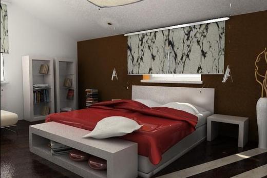 Спальня с расстановкой мебели по фен-шую