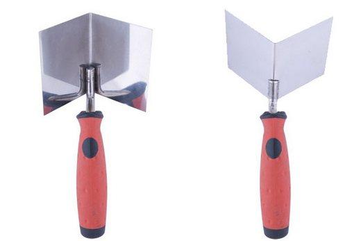 Специальный угловой шпатель для обработки внутренних углов гипсокартонных конструкций