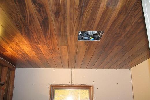 Плохо просушенная деревянная конструкция
