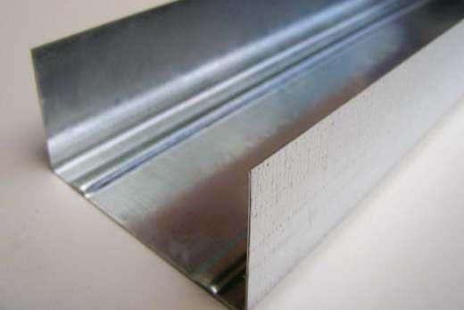 Стеновые направляющие профили для крепления гипсокартона
