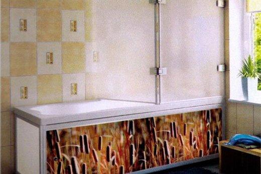 Экран из ПВХ для ванны