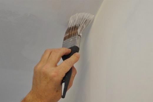 Выведение линии между стеной и гипсокартонным потолком