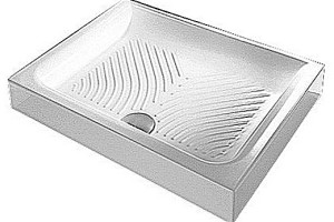 Керамический прямоугольный поддон Hatria Drop