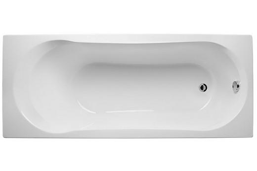 Прямоугольная акриловая ванна 170х70 см