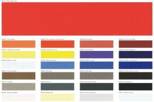 Цветовая гамма тканевых потолков