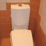 Малогабаритный туалет после ремонта