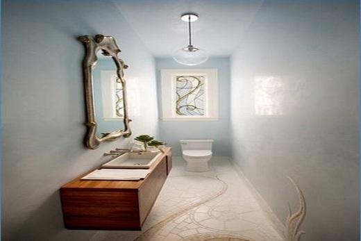Туалет узкого типа