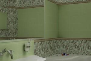 фото 22 зеркала в белой ванной 5