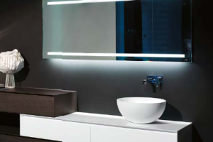 фото 31 зеркала в черной ванной