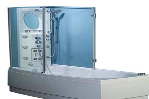 Душевая кабинка, совмещенная с ванной