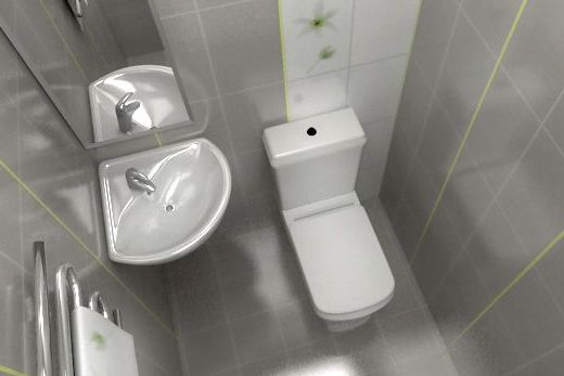 Раковина для маленького туалета