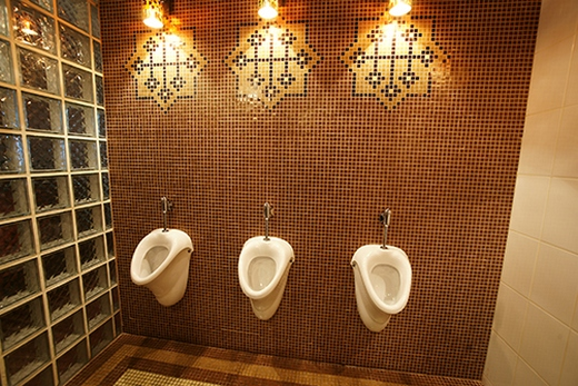 Мозаика в туалете