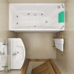 Проект интерьера ванной комнаты