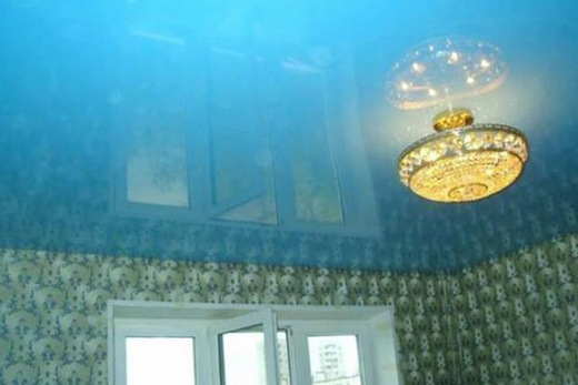 Натяжной плёночный потолок производства РФ