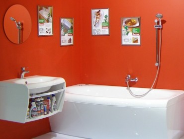 Пример ремонта ванной комнат