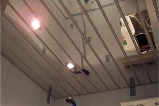 Зеркальный реечный потолок своими руками