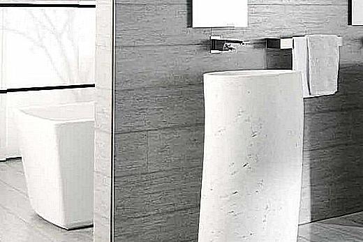 Дорогой керамогранит для отделки ванной комнаты