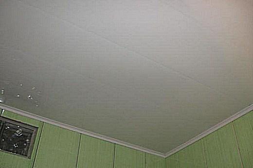 Потолок в ванной - фото, дизайн