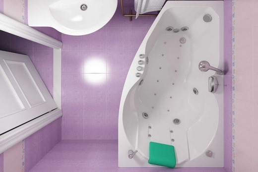 Акриловая ванна Тритон – Лайма с гидромассажем, фото